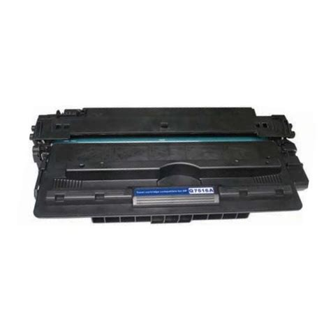 Hp 16a Toner Cartridge Q7516a Remanufactured q7516a toner cartridge hp remanufactured black