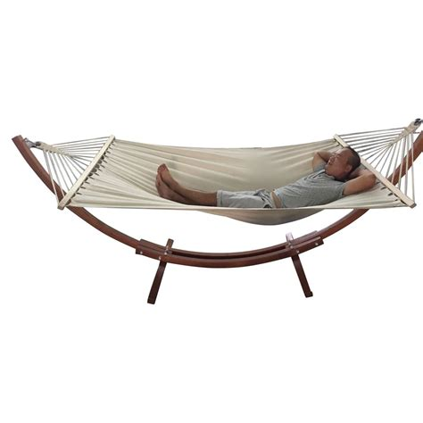hammock bed all portable hammock with stand combo swing steel frame cotton