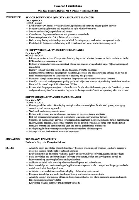 qa manager resume fashionable idea qa manager resume 8 qa manager