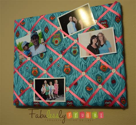 Handmade Bulletin Board - diy bulletin board easy craft idea