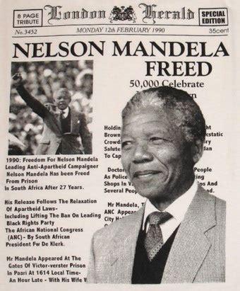 nelson mandela freed national geographic society write on