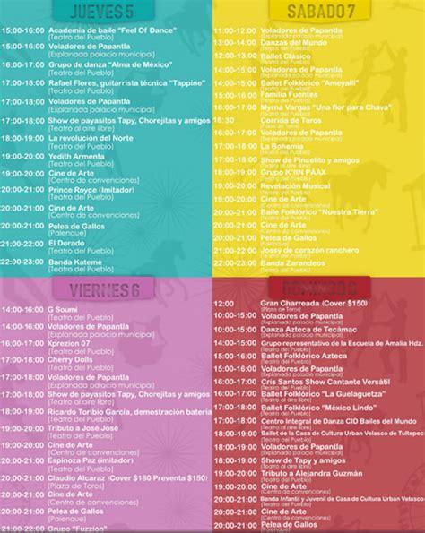 feria de tecamac 2016 c programa de la feria de tecamac 2016