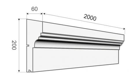 Kunststoff Gesimse Preise by Gesims Stuck Profil Ge 4c
