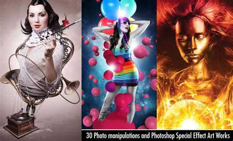 effect design hair 30 creative photo manipulations and photoshop special