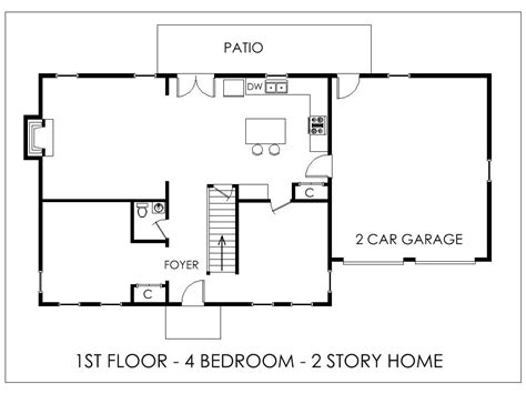 easy house floor plans simple house images indian design easy floor plan bedroom
