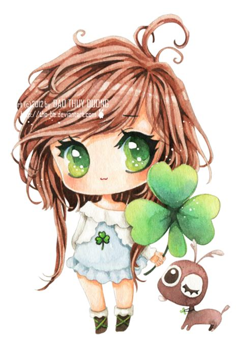 clover by tho be on deviantart