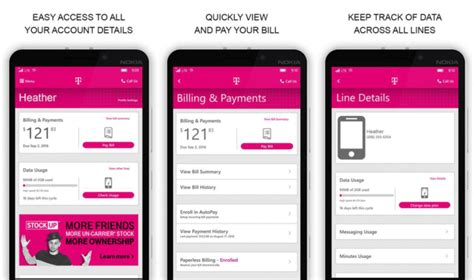 T Mobile Gift Card To Pay Bill - refreshed t mobile app now available to windows phones tmonews