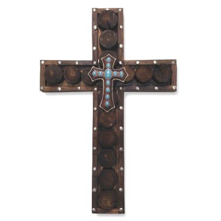 Rustic Wooden Crosses Wall Decor by Wood Circles Cross Rustic Wall Decor