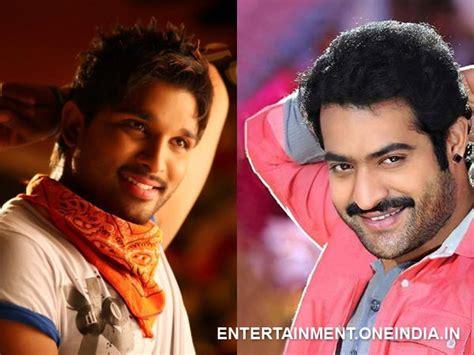 ntr biography in hindi rift between jr ntr allu arjun for ugramm s remake rights
