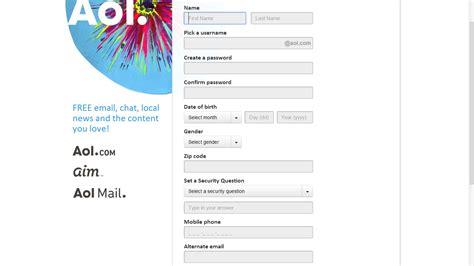 cara membuat alamat email perusahaan gratis cara baru membuat email di aol cara membuat email