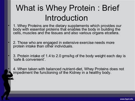 whey protein a complete health information