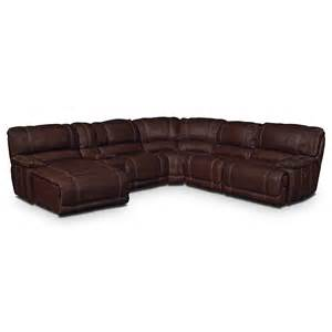 st malo iii 6 pc power reclining sectional