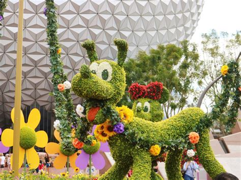 Epcot International Flower And Garden Festival Disney Flower And Garden Festival