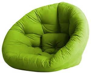nest convertible futon chair bed lime mattress