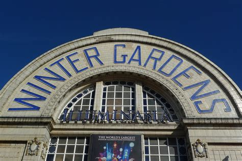 blackpool winter gardens winter gardens building in blackpool thousand
