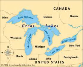 united states map 5 great lakes united states map 5 great lakes