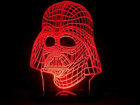 wars desk stunning wars darth vader mask led desk light glowing with me