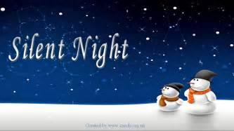 Silent night lyrics youtube