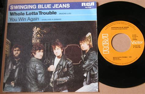 swinging blue jeans totally vinyl records swinging blue jeans whole lotta