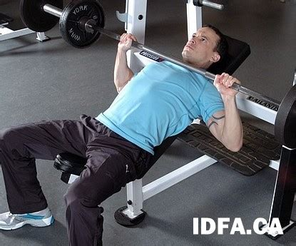 high incline bench press barbell incline bench press international drug free