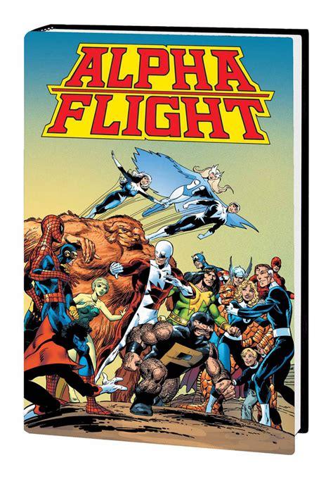 alpha flight by john westfield comics blog 187 alpha beta gamma omega it s all greek to me