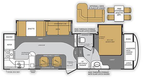wildcat rv floor plans wildcat max 5th wheel model 282rk