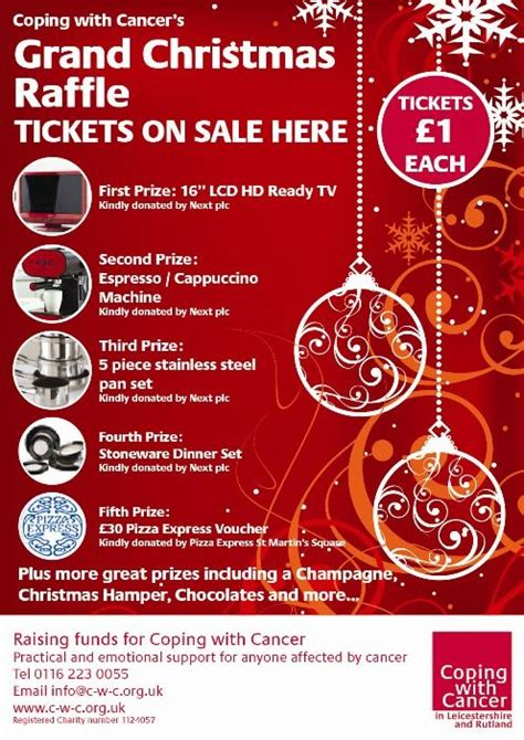 raffle ideas for chirstmas party raffle poster jpg 496 215 702 poster ideas