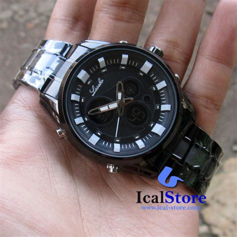 Jam Tangan Lasebo Lsb 853 jam tangan lasebo lsb 8020 black white original ical store ical store