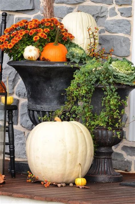 decorated cooking urn 1000 images about fall is for planting your porch on