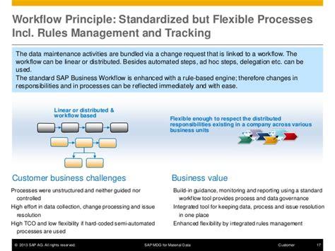 sap mdg workflow sap master data governance for material data