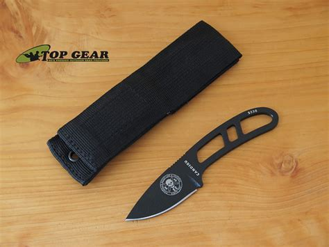 esee neck knife esee candiru fixed blade neck knife black can b