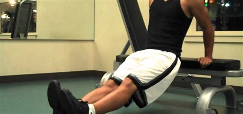 how to improve your bench how to do bench dip exercises to increase your arm