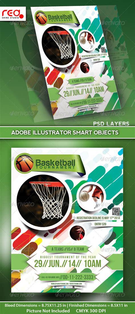 sport poster templates basketball tournament flyer poster magazine template