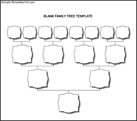 blank tree diagram template blank tree chart template www imgkid the image kid