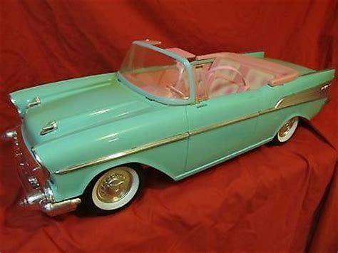 barbie 57 chevy vintage turquoise barbie 1957 chevrolet mattel 57 chevy