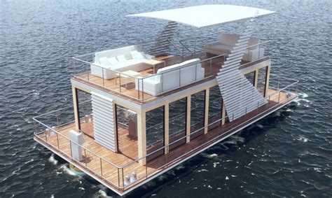 build a house boat build a house boat plastic pontoons valkon dock marina berths piers floating