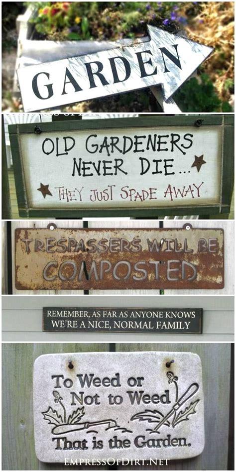 Garden Sign Ideas 523 Best Garden Signs Images On Garden Signs Garden Ideas And Craft Projects