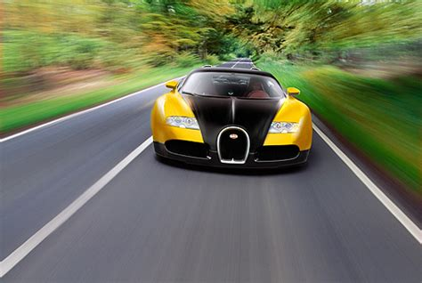 yellow and silver bugatti veyron car stock photos kimballstock