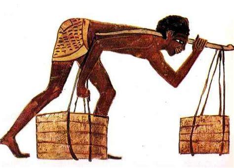 imagenes de egipcios trabajando vida de los esclavos y artesanos en el antiguo egipto