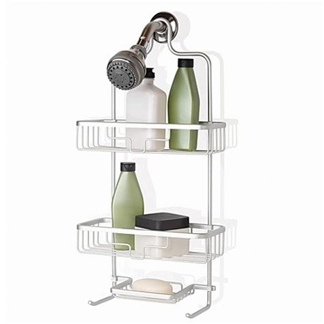 bed bath beyond shower caddy buy org neverrust shower caddy from bed bath beyond