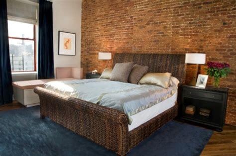 brick wallpaper bedroom design bedroom brick wall design ideas