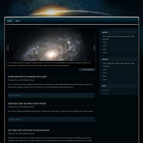 wordpress themes galaxy galaxy theme freethemelayouts com