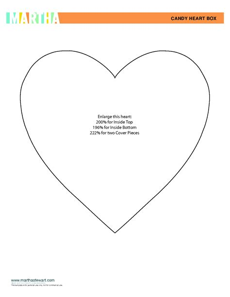 best photos of free heart template pdf printable heart