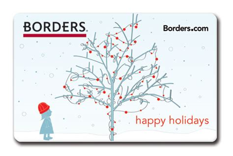 Borders Bookstore Gift Card - borders gift cards on behance