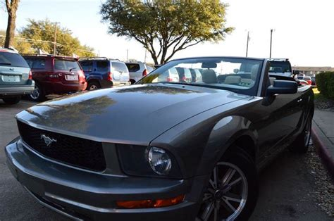 Mustang Auto Dallas by 2005 Ford Mustang V6 Premium 2dr Convertible In Dallas Tx