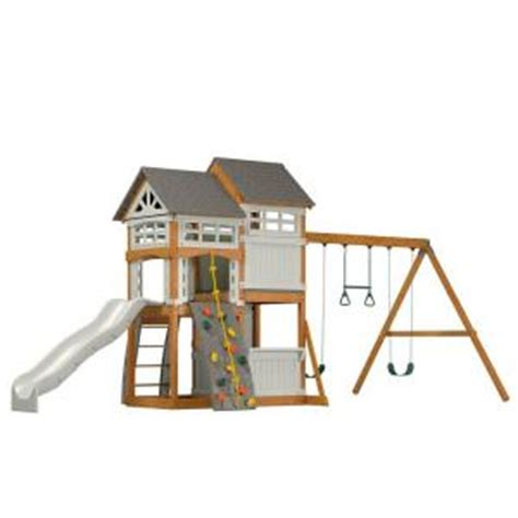 suncast ready to assemble vista hybrid playset wrp7000d