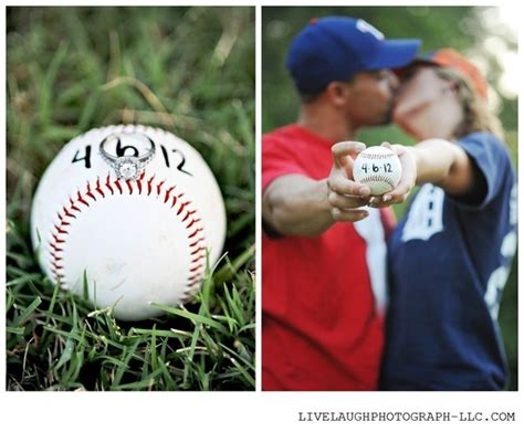 baseball themed pictures baseball themed engagement photos cute girls day
