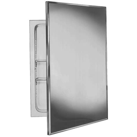 bradley plastic 16 quot x 22 quot medicine cabinet with two