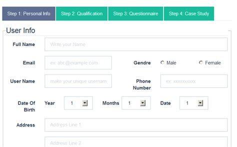 bootstrap templates for tabs 10 best images of two column bootstrap form exle