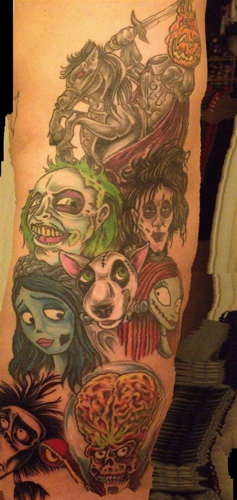 tim burton tattoos tattoos pinterest